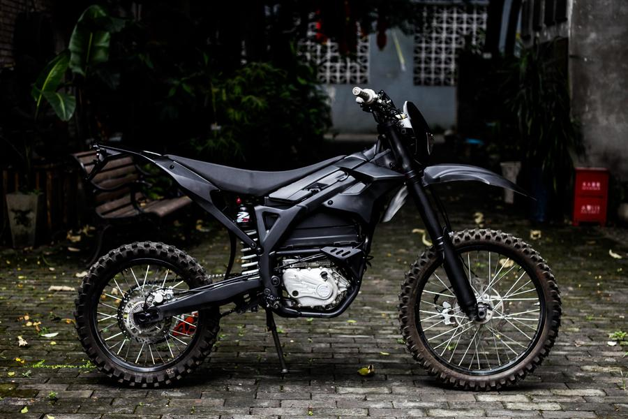 Go Green Electric Motorcycle